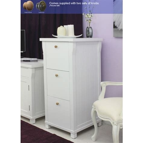 3 Drawer File Cabinet White Hton White Painted 3 Drawer Filing Cabinet