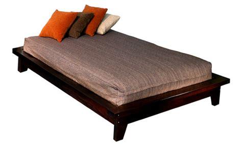 zen platform bed frame zen bed frame