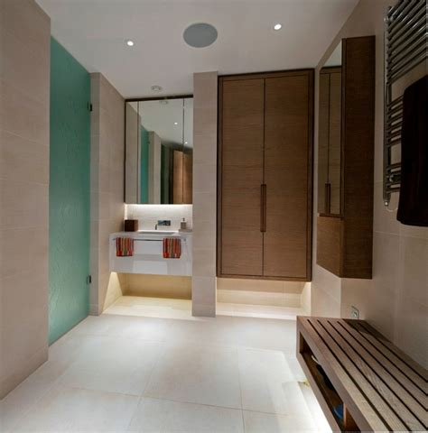 changing room design changing room contemporary bathroom london by