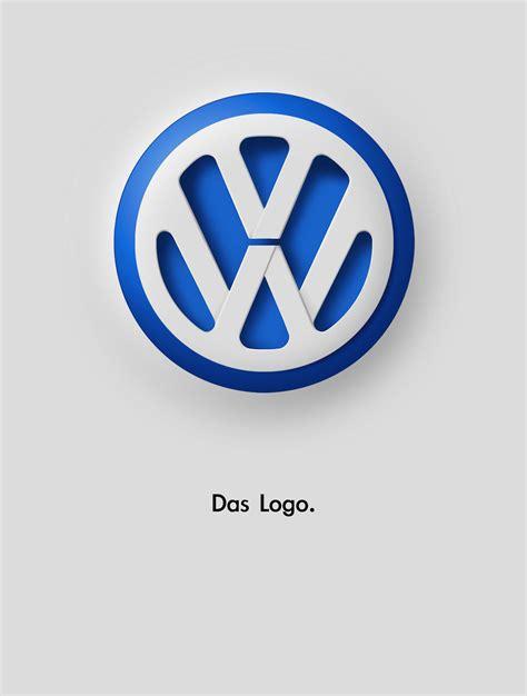 logo volkswagen das vw das logo on behance