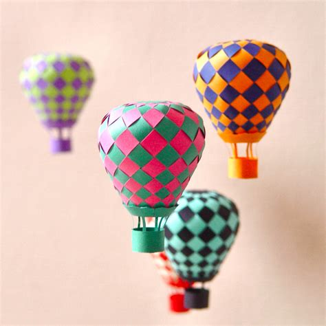 buttons and paint obsessions distractions hot air balloon crafts