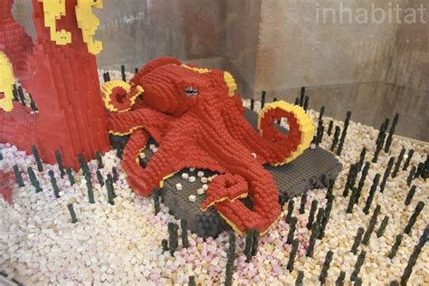 Termurah Lego Octopus Animal New Lego Animals Invade The Bronx Zoo Bronx Zoo Lego Octopus