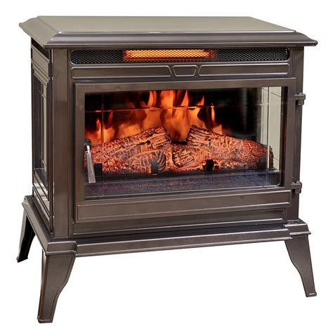 comfort smart electric fireplace comfort smart jackson bronze infrared electric fireplace