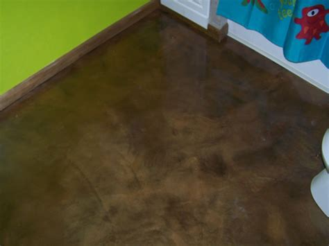 epoxy over plywood subfloor re epoxy bathroom floor concretelocator decorative concrete custom interior floori