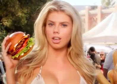 blonde girl from carls jr commercial but do carl s jr ads really make anyone want to eat a burger
