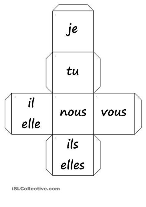 dés-pronoms personnels+verbes fiche d'exercices - Fiches