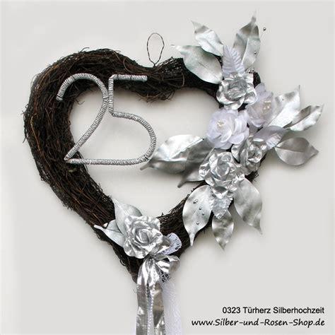 Deko Hochzeitstag by Deko Silberhochzeit Silber Und Shop