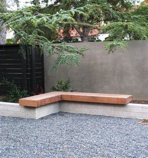garden wall bench debora carl landscape design contemporary landscape
