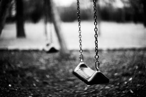 swing black and white grey swing b w sad photography black and white
