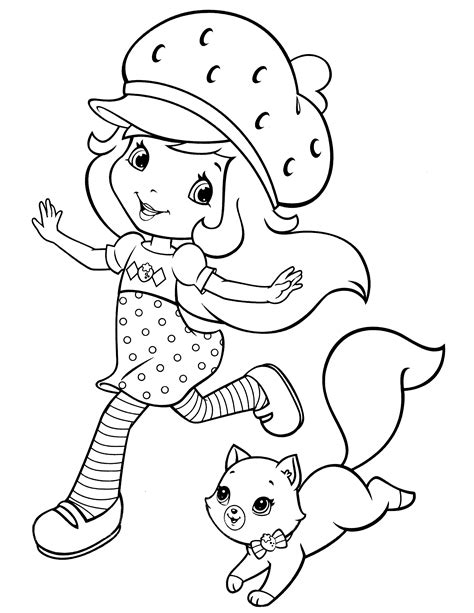 strawberry coloring pages hasbro strawberry shortcake