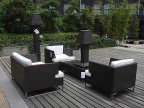 Outside Patio Set Modern Patio Furniture With Chic Treatment For Fancy House