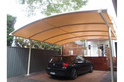 car port awning freestanding curved batten carport awning architecture pinterest shops