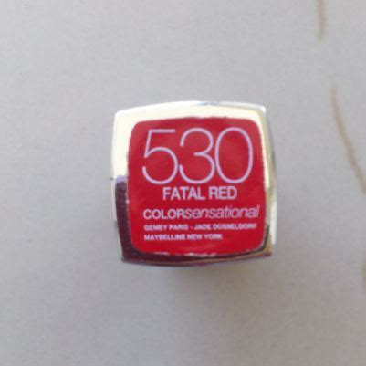 Maybelline Get The Look Match Color Lipstick 794 Matte 1 maybelline color sensational lipstick fatal review