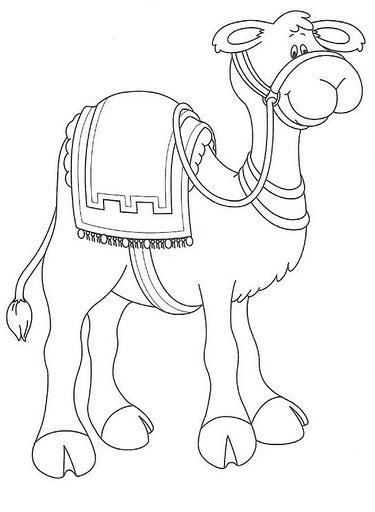 imagenes reyes magos en camello camello dibujalia dibujos para colorear animales