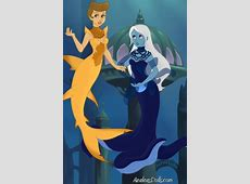 Yellow & Blue Diamond Mermaids ~ by DysMalLexia Unknowns About Harry Potter