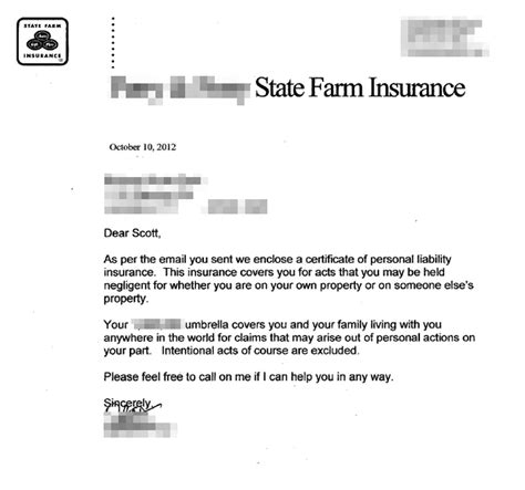 Proof Of Coverage Letter From Employer Liability Release For Metal Detecting