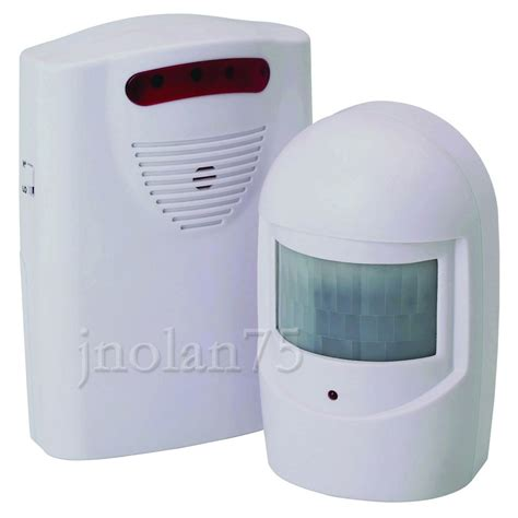 Alarm Sensor wireless motion sensor detector door gate entry bell chime