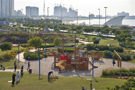 park corniche parks abu dhabi information portal