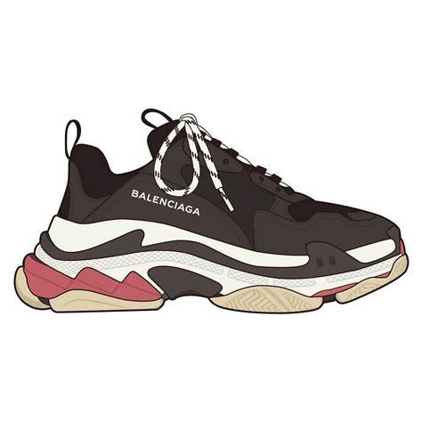 balenciaga s s k e t c h balenciaga shoes fashion shoes и shoe sketches