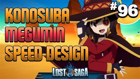 gear design lost saga flash helmet lost saga konosuba megumin speed gear design youtube