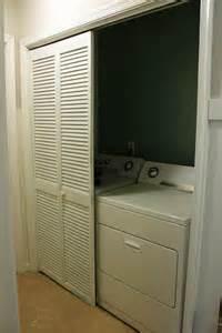 Utility Closet Doors Laundry Closet Door Ideas