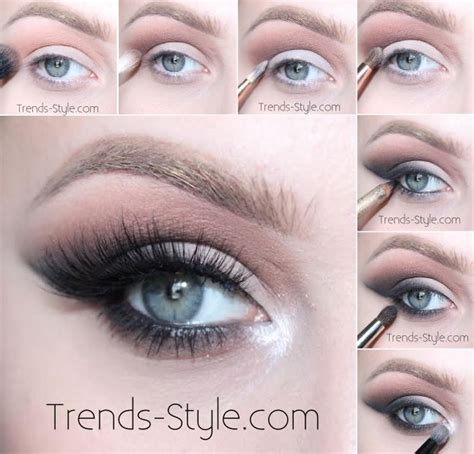 eyeshadow tutorial using too faced smokey cat eye makeup tutorial all matte and neutral