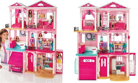 barbie dream house buy barbie dreamhouse groupon