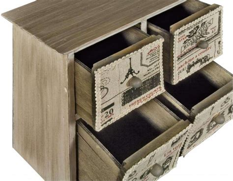 Craft Storage Drawers Wood by Wooden Mini Drawers Vintage Sewing Box Crafts Jewellery