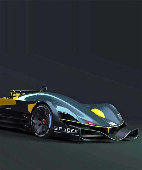 tesla supercar concept tesla le mans car concepts signal future for all electric