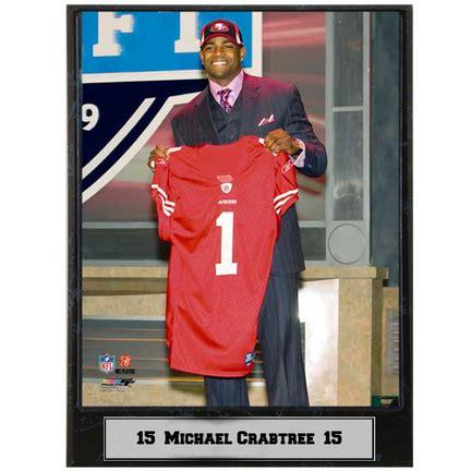 youth premier michael crabtree 15 jersey original design of designers p 1095 michael crabtree san francisco 49ers plaque 49ers michael