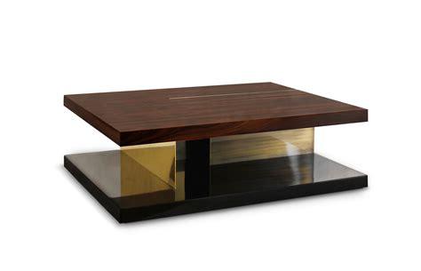 LALLAN   Wood Coffee Table Mid Century Modern Design by BRABBU