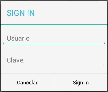 layoutinflater ejemplo el baul de android dialogs
