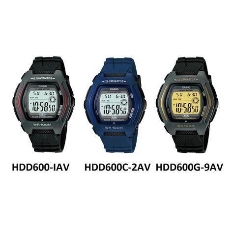 Jam Tangan Casio Hdd 600 jam tangan casio digital hdd 600 series free shipping jabodetabek elevenia