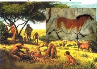 Batu Gambar Rhoma pembabakan manusia zaman prasejarah ika novita fitriana