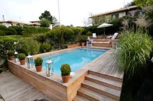 amazing Piscine Hors Sol Castorama #4: piscine-bois-semi-enterrée-3m-6.jpg