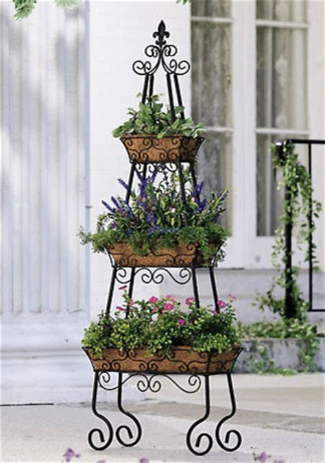 pyramid patio planter traditional outdoor pots and