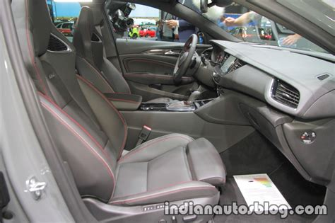 opel insignia 2017 inside opel insignia gsi interior at iaa 2017 indian autos blog