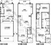 Narrow Lot House Plans Houston Narrow Housing Design Contemporary Urban House Plans
