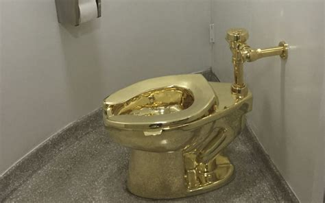 golden toilet gold toilet opens for business at guggenheim nigeria today