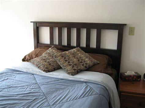 simple headboard plans ana white build a full size slatted headboard free and