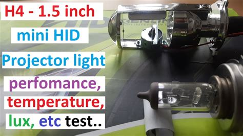 Led Projector Lens Zt Power h4 1 5 inch mini projector headlight bulb tired and tested