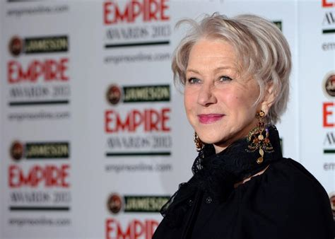 Did You Helen Mirren Carried Around 250000 At The Oscars by Helen Mirren Horrified By Theater Outburst