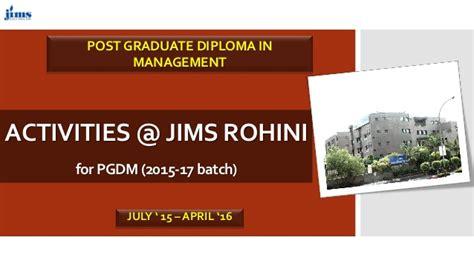 Jims Rohini Mba Reviews by Post Graduate Diploma In Management Jims Rohini