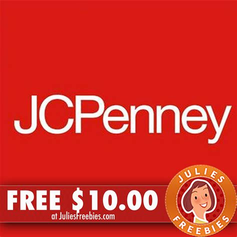 Jcpenney Coupon Giveaway October 2017 - free 10 00 to use at jcpenney julie s freebies
