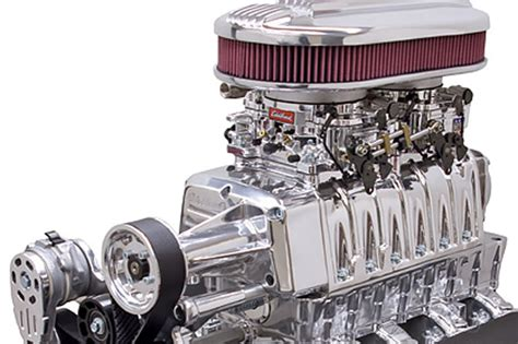 Edelbrock Sweepstakes - win a 520 hp edelbrock enforcer blown and built sb chevy 350 rod authority