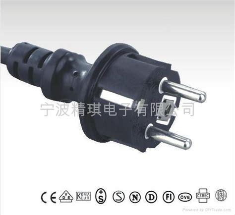 european vde power cords waterproof cee 7 7