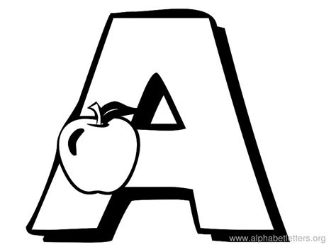 Clipart Of Letters a letter clipart black and white clipartsgram