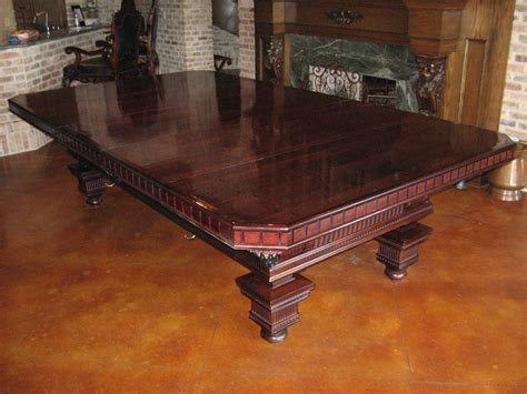 Pool Table Dining Conversion Top by Pool Table Dining Top