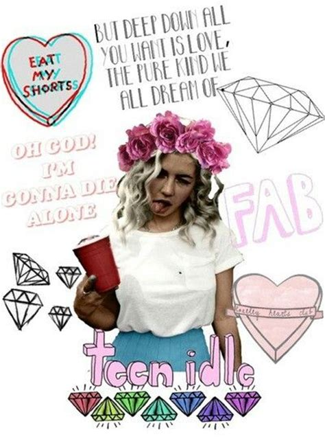Collagen Lamour marina and the diamonds electra collage marina