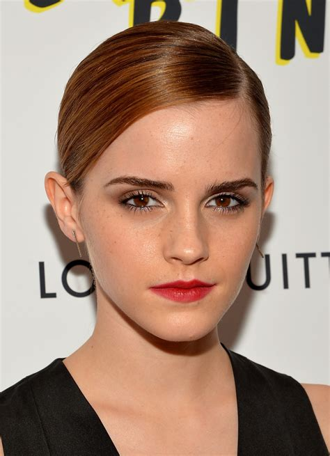 5 celebs who will inspire you to get super short hair emma watson photos photos the bling ring screening in